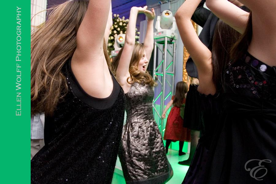 fun bat mitzvah dance photography