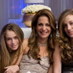 lovely mother daughter bat mitzvah portrait