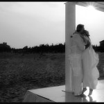 wedding ceremony on a hamptons beach