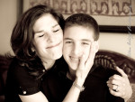 mother and son bar mitzvah photo