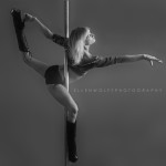 pole dancing portrait