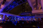 Copacabana large retractable roof open at night